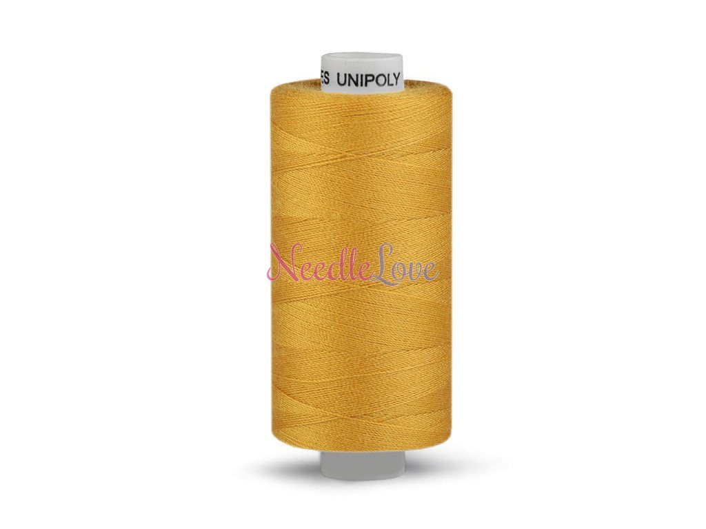 Nitě UNIPOLY 120 14x2 1000 m - Mléčná žlutá - 132