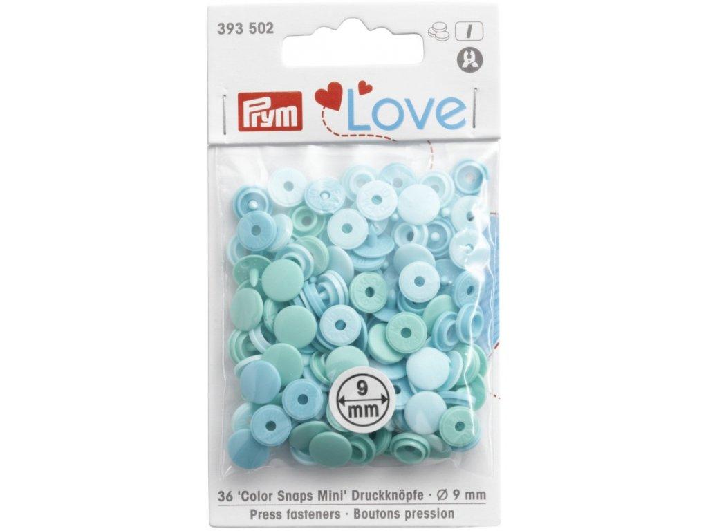 prym love mini plastove patentky color snaps matovy mix