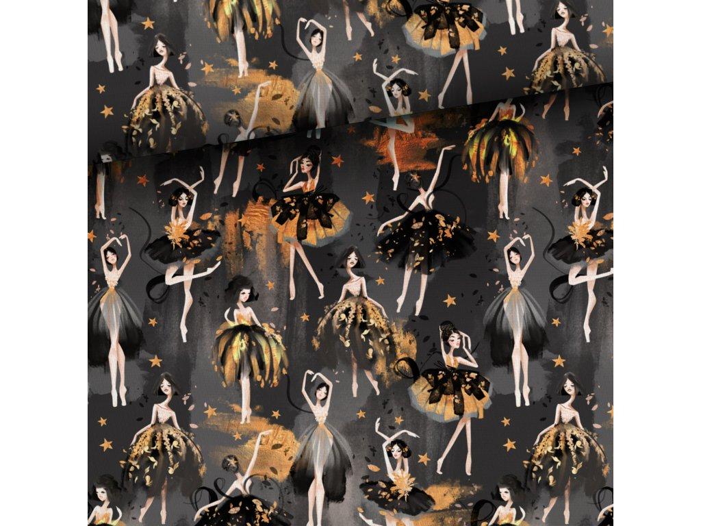 Teplákovina - Zlaté baleríny
