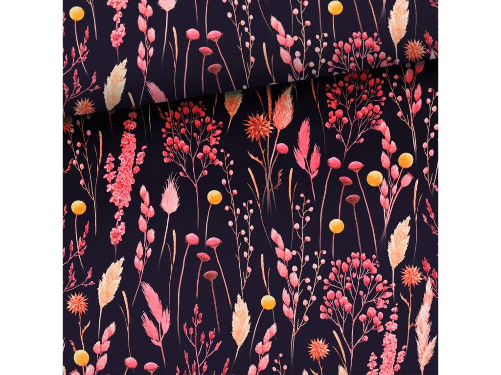 pink straw flowers (1)