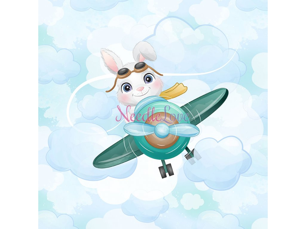 FT panel bunny in plane
