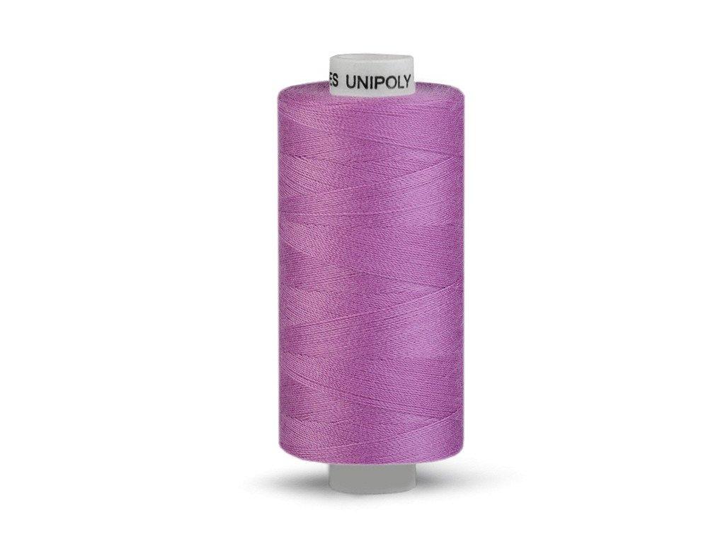 Nitě UNIPOLY 120 14x2 500 m - 445 - Středně fialová