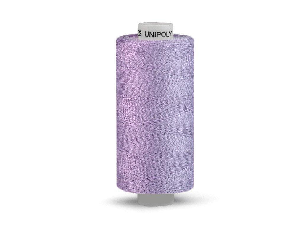 Nitě UNIPOLY 120 14x2 500 m - 452 - Ledově fialová