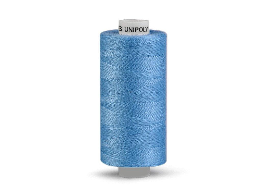 Nitě UNIPOLY 120 14x2 500 m - Blankytná modř - 552
