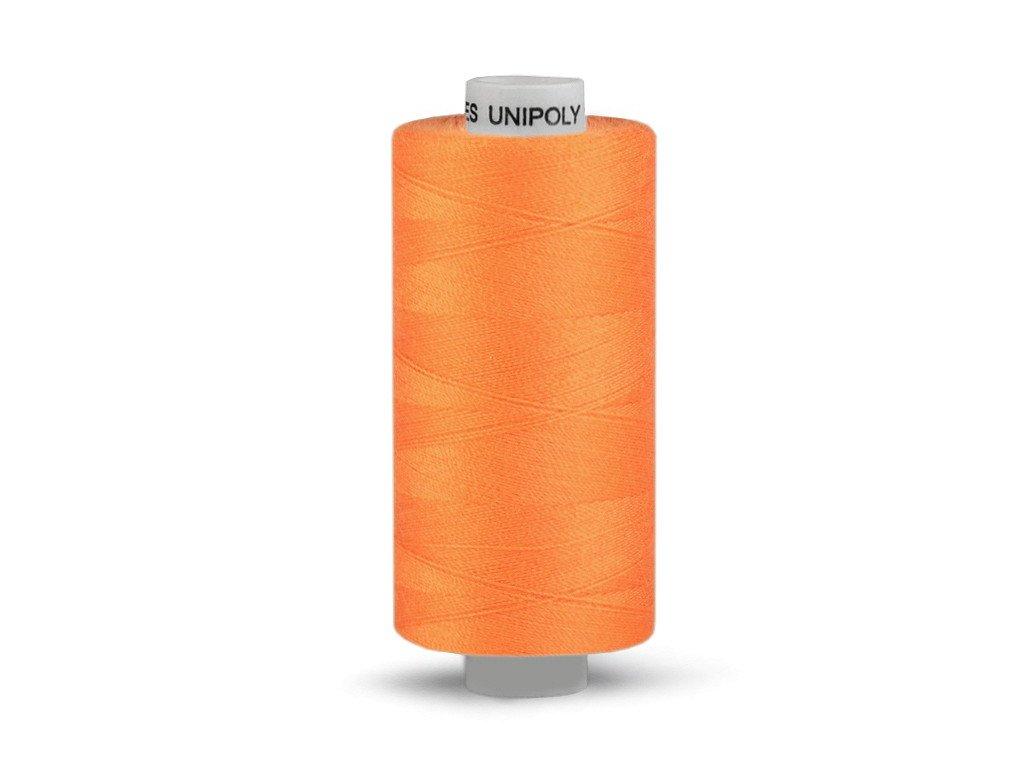 Nitě UNIPOLY 120 14x2 1000 m - 175 - Světle oranžová