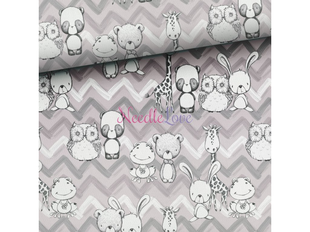nursery animals grey