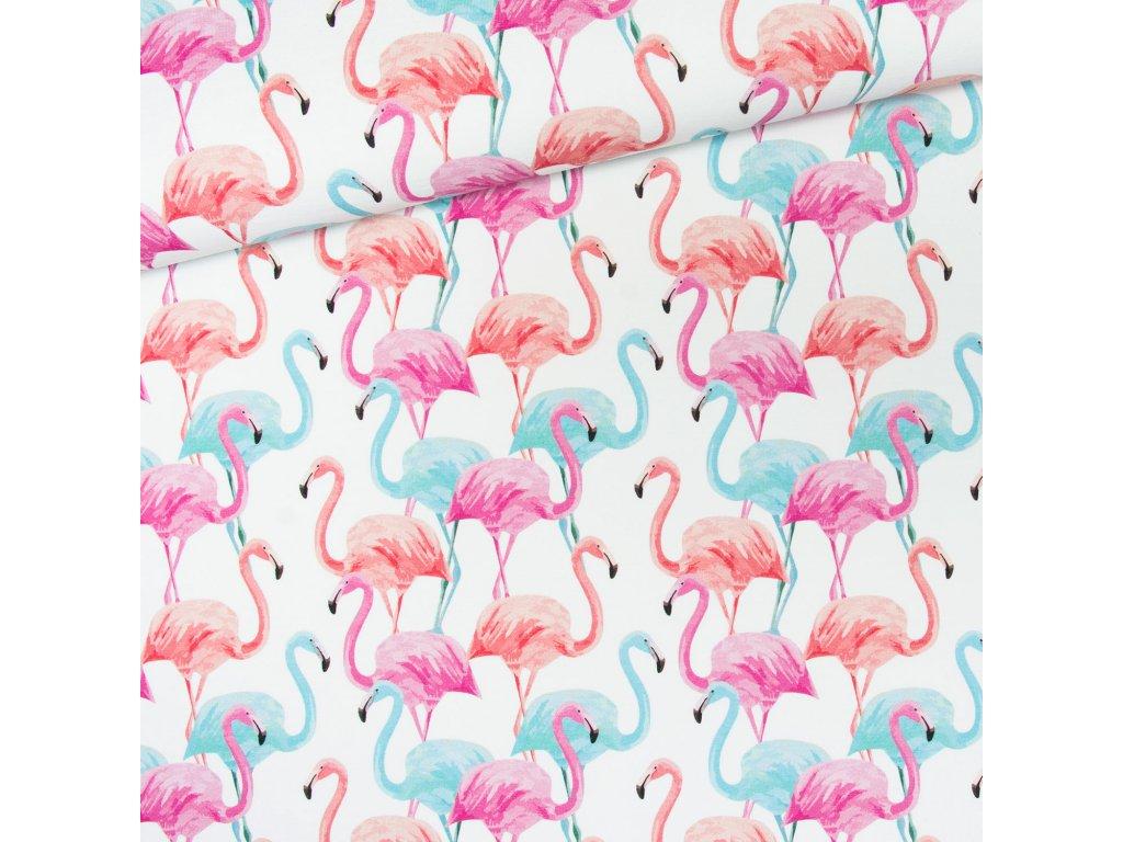 flamingi pastelowe2 dres