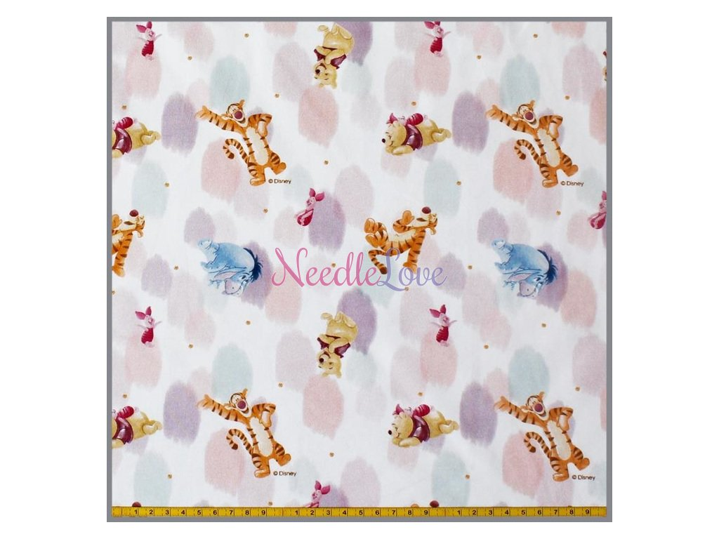 jersey disney winnie the puh and friends creme 8 meter 3