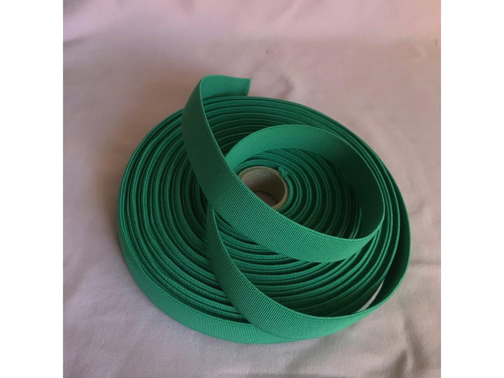 Pruženka 21mm - středně zelená