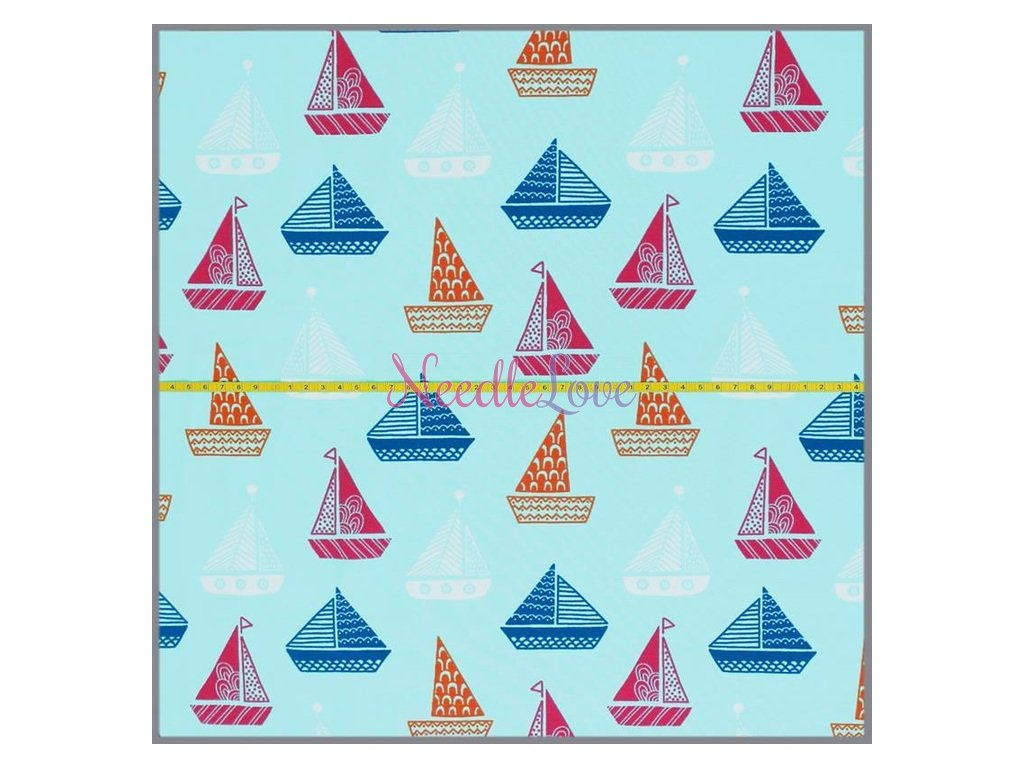 jersey bunte boote bright mint 10 meter 2
