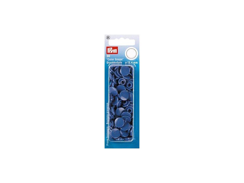 plastove patentky color snaps 12 4 mm modrofialova