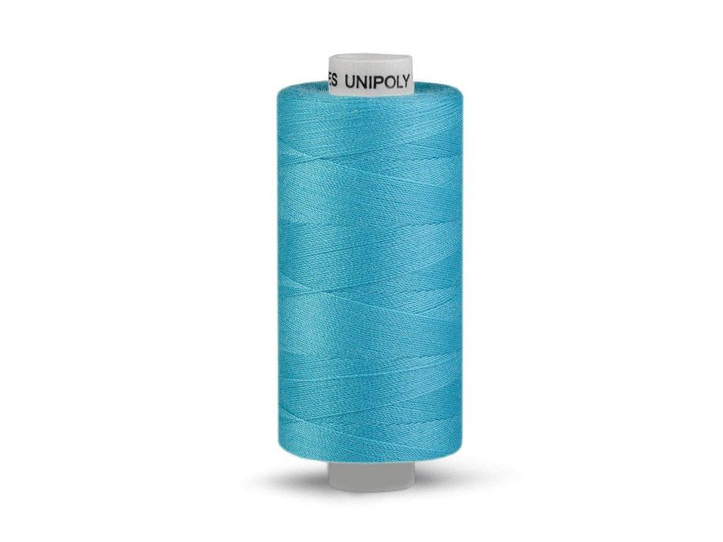 Nitě UNIPOLY 120 14x2 1000 m - Modrý tyrkys 655