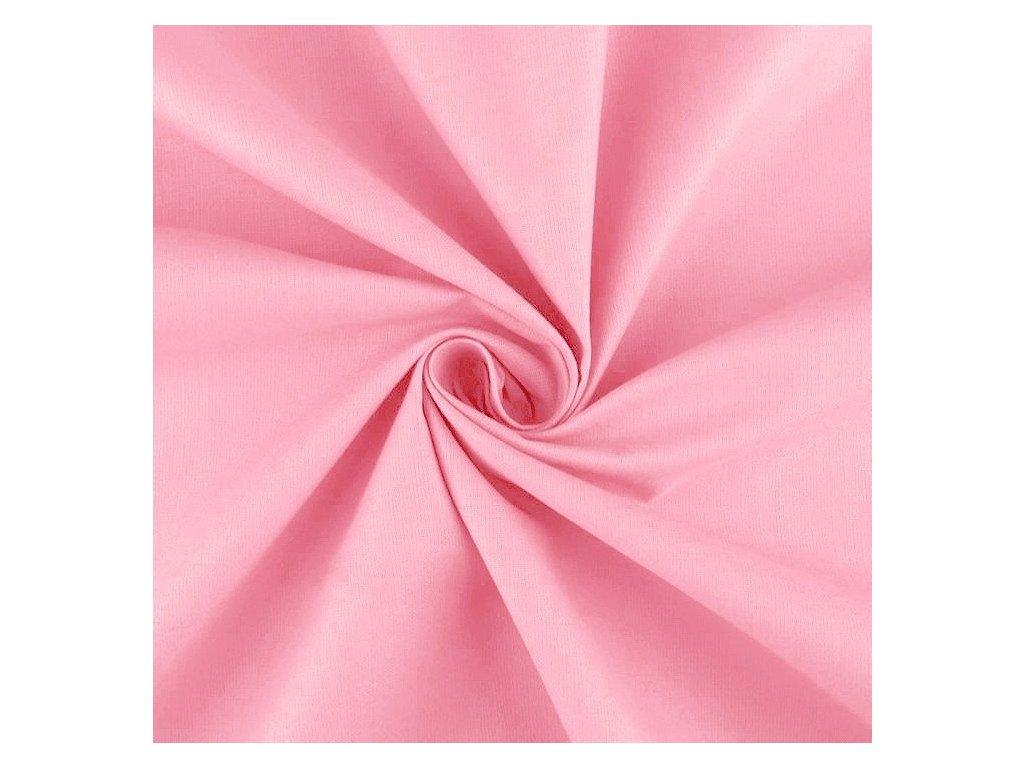 Plátno - Středně růžová