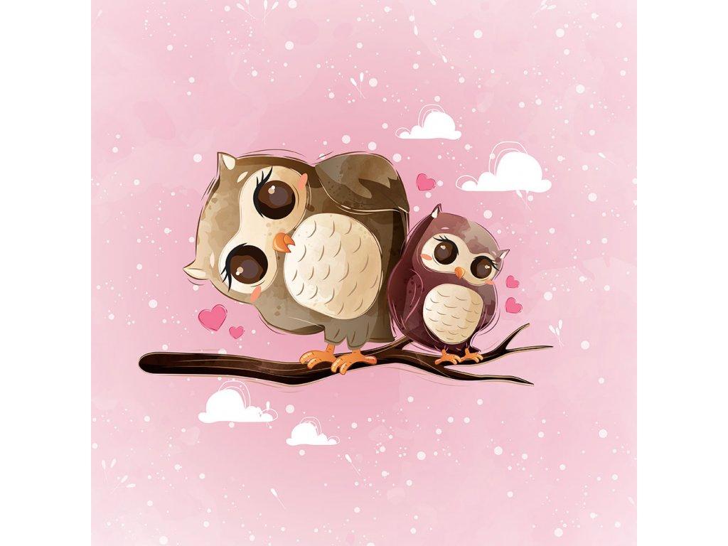 ft panel cute owls