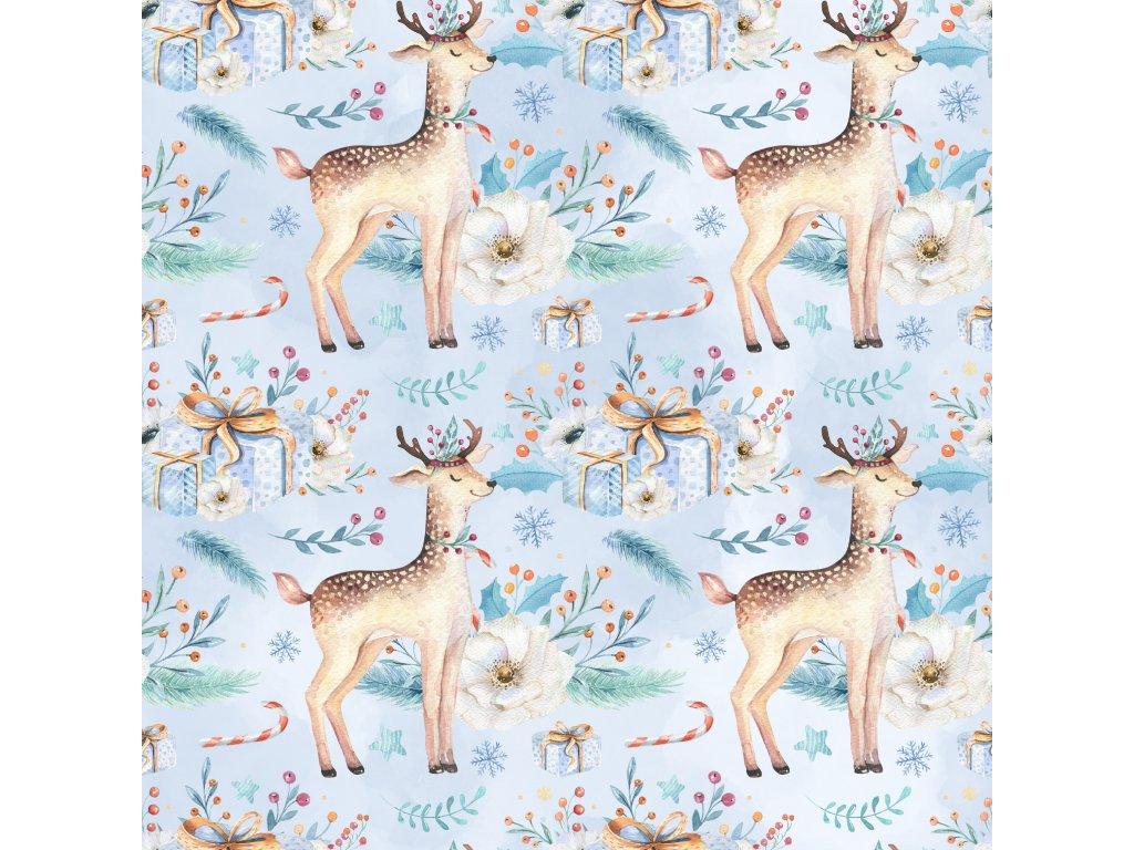 Zimní Softshell - Jeleni