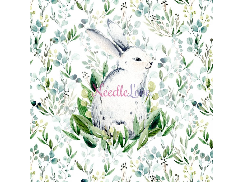 ft panel bunnie in green