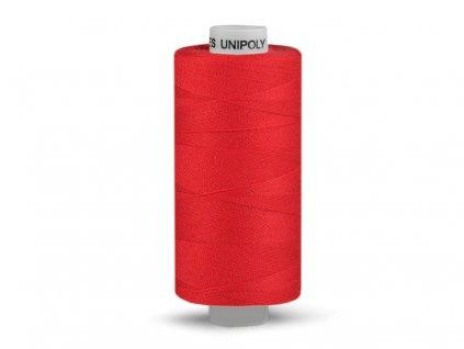 Nitě UNIPOLY 120 14x2 500 m - 336 - Červená