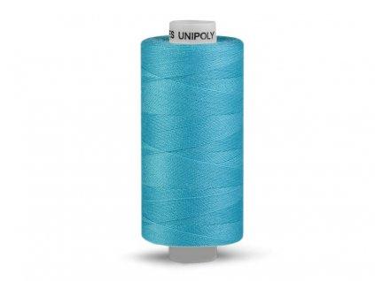 Nitě UNIPOLY 120 14x2 500 m - 655 - Modrý tyrkys