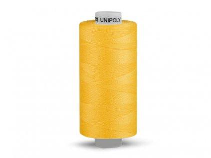 Nitě UNIPOLY 120 14x2 500 m - 125 - Kanárkově žlutá