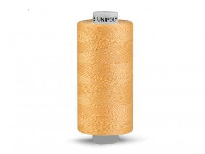 Nitě UNIPOLY 120 14x2 500 m - Tmavě žlutá 136