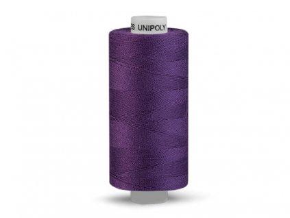 Nitě UNIPOLY 120 14x2 500 m - Tmavě fialová 458