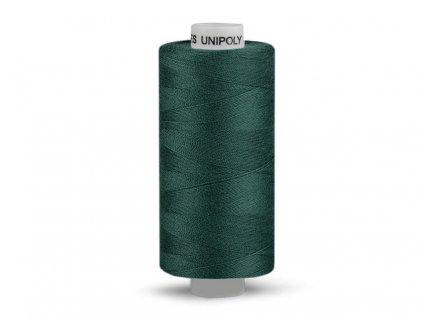 Nitě UNIPOLY 120 14x2 1000 m - Temně zelená 669