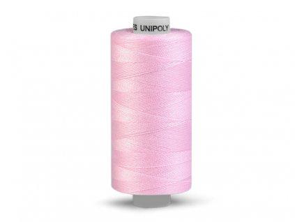 Nitě UNIPOLY 120 14x2 1000 m - 330 - Ledově růžová