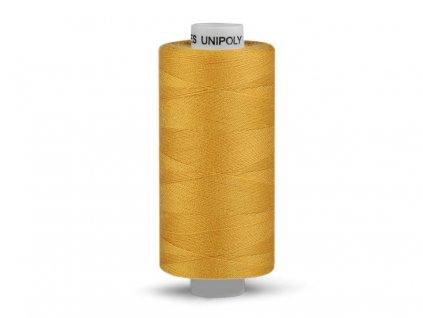 Nitě UNIPOLY 120 14x2 500 m - Mléčná žlutá - 132