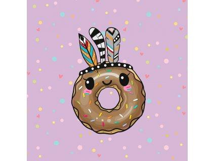 ft panel boho donut