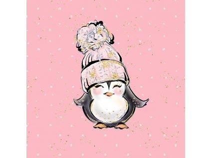 arctic pinguin pink