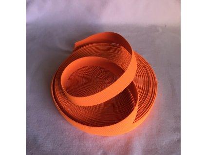 Pruženka 21mm - reflexní oranžová