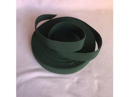 Pruženka 21mm - tmavě zelená