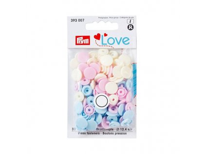 patentky prym love kulate color snaps 393007 12 4 mm