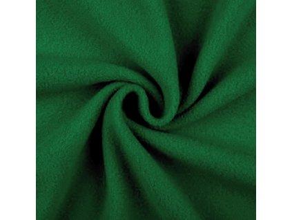 Polar fleece - tmavě zelená