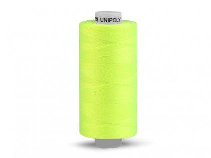 Nitě UNIPOLY 120 14x2 500 m - Reflexní žlutá - 115