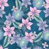 Zimní Softshell - Květiny