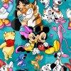 Jarní Softshell - Disney tyrkysová
