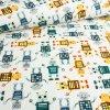 Bavlněné plátno - Roboti - 80cm