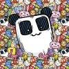 ft panel doodles happy squad panda