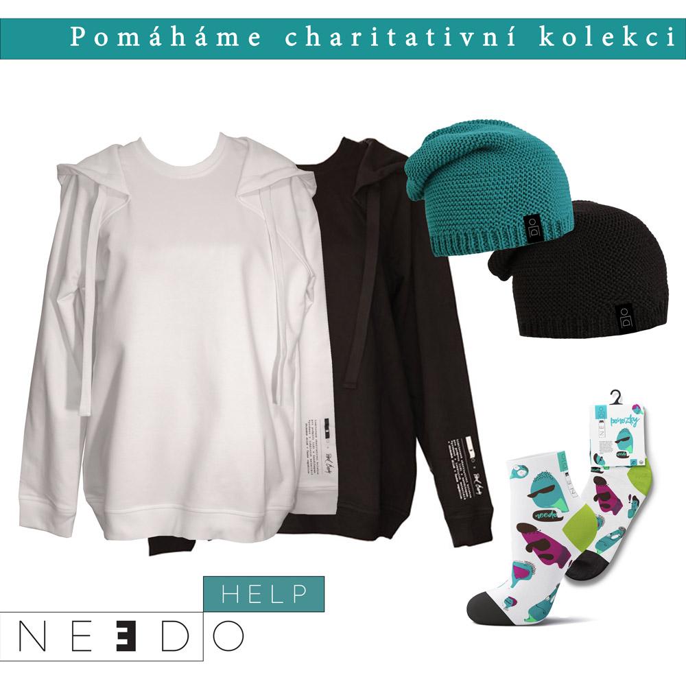 POMÁHÁME charitativní kolekcí oblečení
