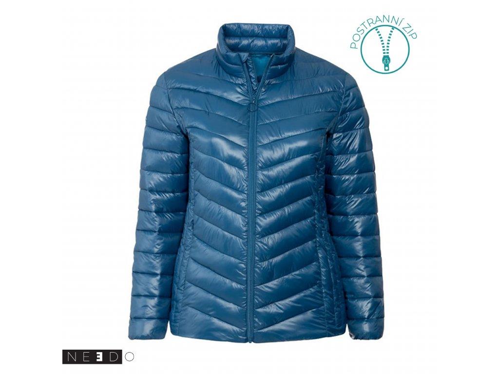 needo damska zimni bunda modra