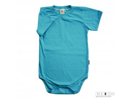 Needo triko kratky rukav tyrkys
