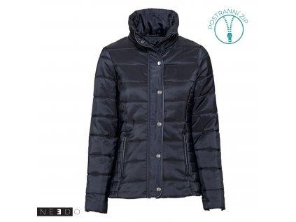 Zimni damska bunda modra5