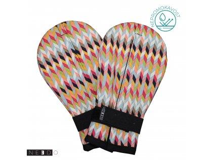 Needo rukavice barevne2