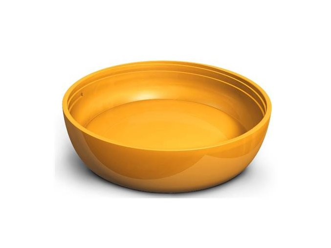iiamo iiamo flat bottom for go or home bottle orange