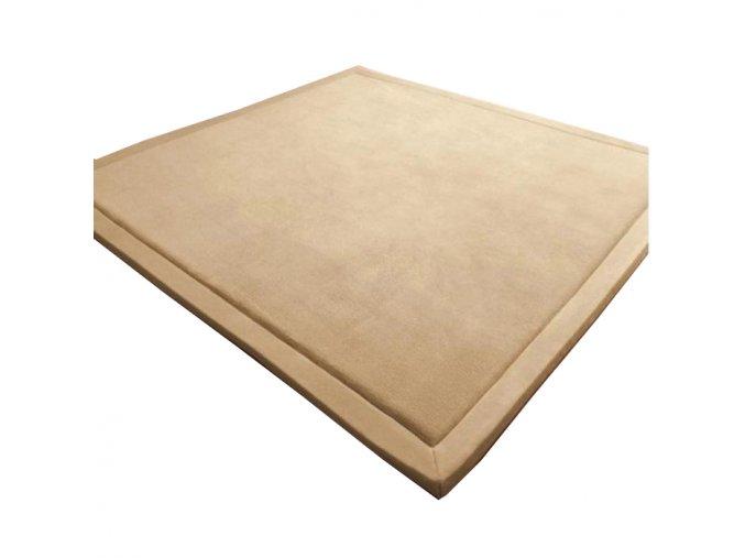 Needo koberec tatami bezovy