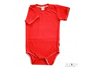Needo triko kratky rukav cervene
