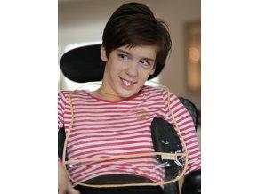 Needo Bryndák pro postižené - na stravování (igelitový - průsvitný - holka)