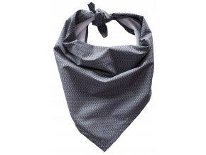 Needo Bryndák pro postižené - šátek (šedý se vzorem)