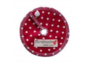 PEG ochranný kroužek (Ø10cm) - červený